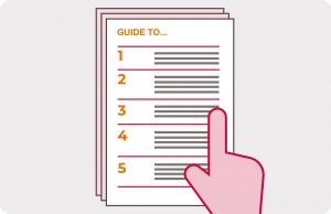 User guide format